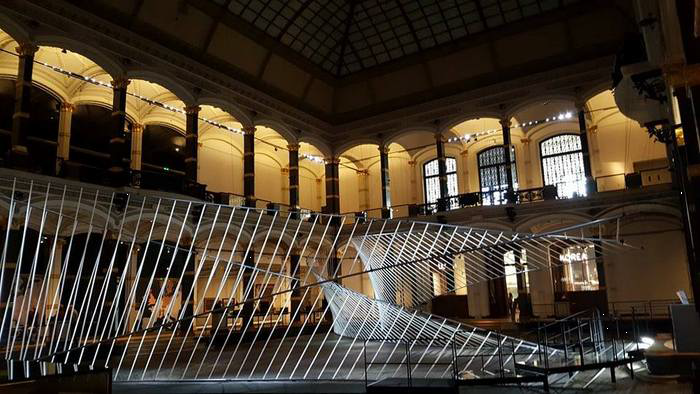Eingang zur Ausstellung im Gropius Bau